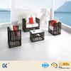 Hot sale waterproof aluminum frame with cusion rattan outdoor sofa furniture
