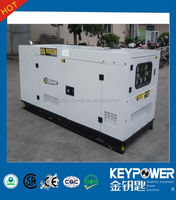 KEYPOWER 24kw 30kva silent type generators power by Foton Isuzu 2014