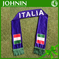 To prepare for the European Cup custom football fan scarf