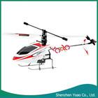 New 4 canais 2.4 GHz controle remoto único hélice RC helicóptero para venda