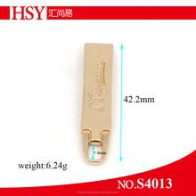 Fashion design high quality slider gold zipper slider