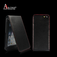 Genuine leather case custom flip case for mobile phone case for iphone 5