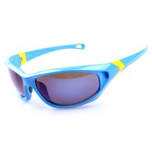 Guangzhou fabricante logotipo personalizado gafas de sol para exterior de los deportes