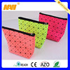 Korean Grid Makeup Cosmetic Bag Case Pouch For Cosmetics With Zipper