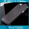 Ultra Thin Brushed For iphone 5 Metal Back Cover /Durable metal aluminum case for iPhone 5 5G