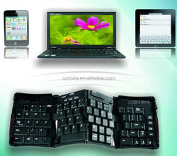 Newest Folding Bluetooth Keyboard for ipad,for tablet pc,for laptop ,for smart phone