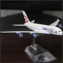 custom made 1/100 British Airways-A380 resin model,1/100 resin A380 airbus model,A380 airbus resin plane model