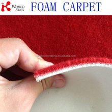 Alibaba china branded carpet with pvc foam backing