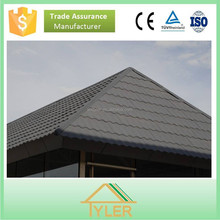low cost high strength colorful stone coated metal roofing tiles