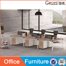 Hot selling economical melamine office Open desk with affordable price