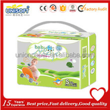 unisoft best star lovely teddy baby baby diaper wholesale in quanzhou