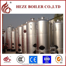 Construction industry used vertical 0.7t/h coal fired steam boiler