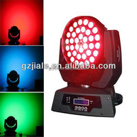 36x10w RGBW 4in1 zoom led moving head wash light