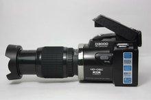 "Latest model D3000 Digital still Camera 16.0 mega pixels 3.0"" LTPS screen with Video function, Voice recorder MP3, MP4"