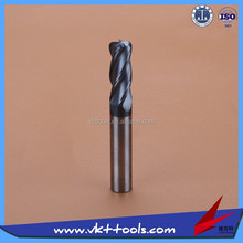 High precision 55HRC Round nose Solid Carbide Milling Cutter High quality-----------12*150