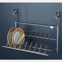 Metal Kitchen Wall Hanging Wire Plate Rack ( 900.143.000 )