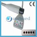 Holter 5- plomo ecg cable