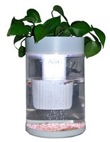 Aquarium RGB led light DC-12V mini acrylic fish tank aquarium for sale