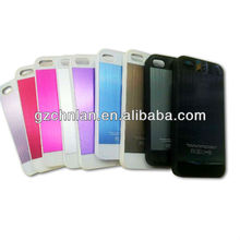 Premium luxury brushed Aluminum case for Iphone 5,many color,accept Paypal