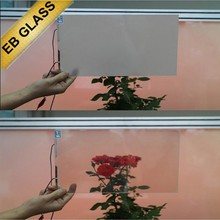 solar smart glass internet control/ knob switch control EB GLASS BRAND