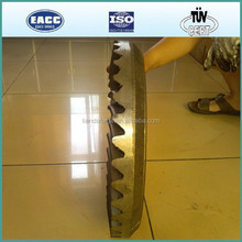 High Quality and High Precision Ratio 6:40 Spiral Bevel Gear in Hot Forging