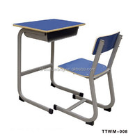 chair table school,double writing desk and chair,student supplier