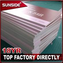 Shenzhen factory 1mm 3mm 5mm pvc foam board printing sign for sale -Sc-L07
