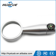 Newest Products 2016 USB 3.0 2GB 4GB 8GB 16GB Metal Magnifier & Compass USB Flash Stick
