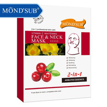 Skincare Cherry Vitamin C Whitening Moisturizing and Hydrating MONDSUB Face And Neck Mask