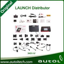100% Original X431 IV Launch X431 IV Master Auto Scanner OBD2 Scanner X43 GX4 Update Version X431 Master Support 12V/24V