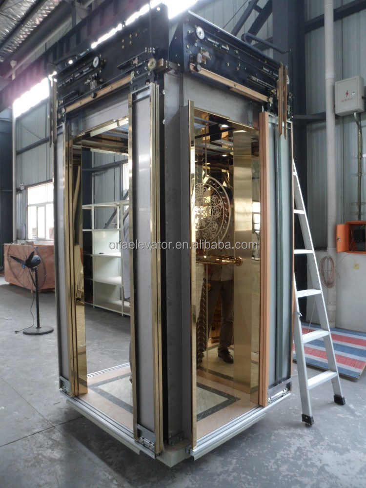 Oria home small hydraulic elevator glass sightseeing home for Ascenseur hydraulique pour maison individuelle