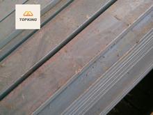 JIS standard Q235 Q345 galvanized flat steel for construction