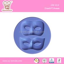 Mask Silicone Fondant Mould
