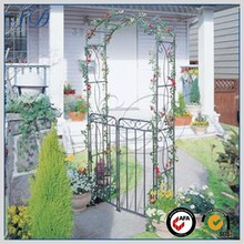 alibaba express metal garden arch with gate