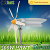 Rated 200W high efficiency wind turbine
