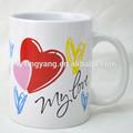 Personalizado impresso copos de chá, café turco xícaras de cerâmica, cerâmica café árabe xícaras