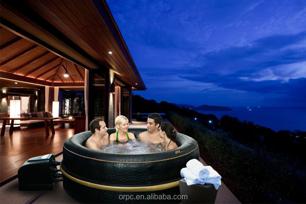 MSpa Luxury Exotic HJ-511S inflatable portable spa / outdoor hot tub/ freestanding pool 6 person