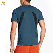 High quality polyester spandex Breathable try fit Coolmax t shirt