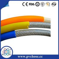 Professional pvc yellow natural gas pipe for food transporting