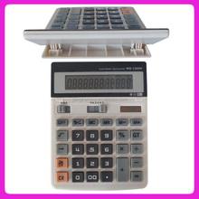 Big display solar desktop calculator
