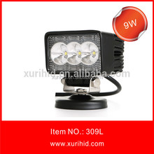2015 new products 4x4 off road/truck 9W led working lights