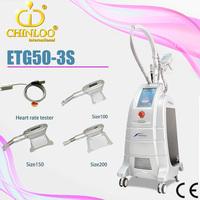 3 handpieces freeze fat etg50 3 s cryolipolysis alat kecantikan for weight loss