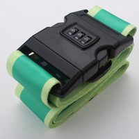 2 inch wide travel luggage belt with lock with factory price
