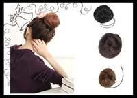 пони хвост волос расширение булочки Шиньон