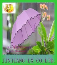 New Design Flower Pattern Umbrella, 3 Fold And Rain Umbrella