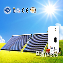 Split Pressurized Evacuated Tube Thermosyphon (passive) Indirect / Closed Loop (Active) Solar Water Heaters (300 Liter )
