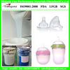 Injection molding liquid silicone rubber for baby nipple