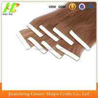Women love hair. made in china tape hair extensions, colorful brazilian hair, skin weft