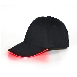 Унисекс led подсветкой бейсболка LED с батареями
