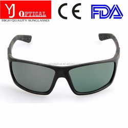 wholesale double injection coating sports sun glasses full frame